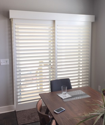 Philadelphia modern sliding door shutters