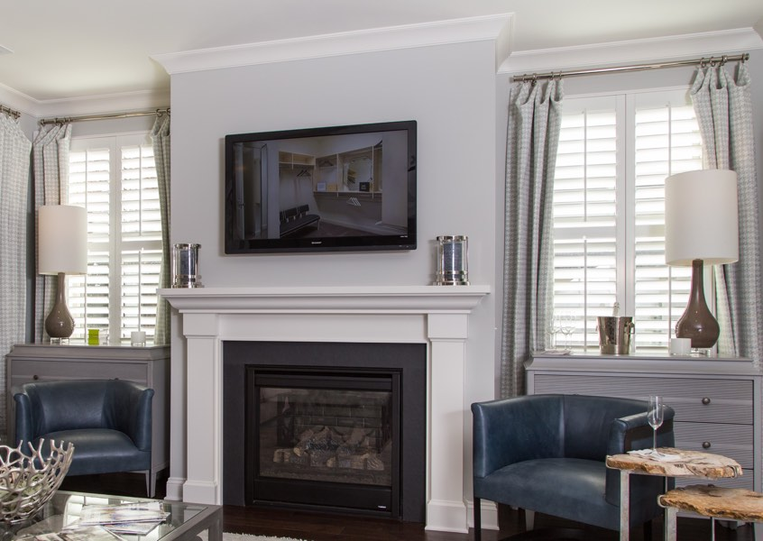 Philadelphia installed designer shutters