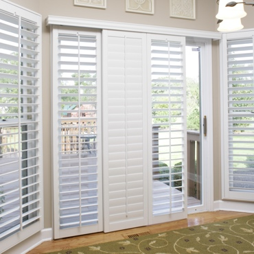 Philadelphia Sliding Patio Door Shutters