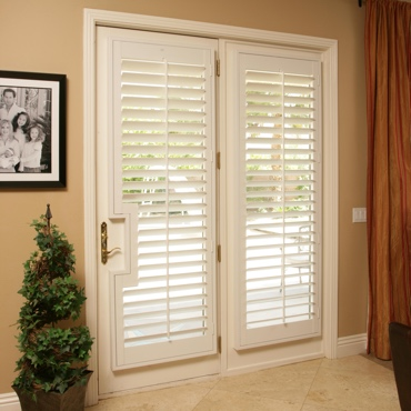 Patio French Door Shutters Philadelphia