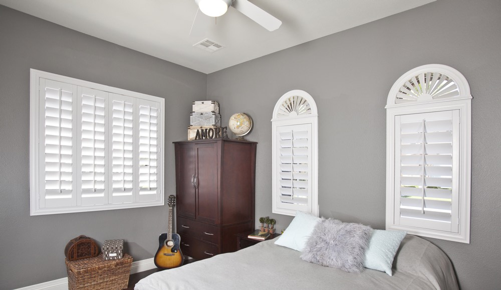 Polywood Shutters In A Philadelphia Bedroom