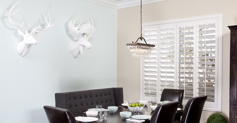Philadelphia dining room shutters
