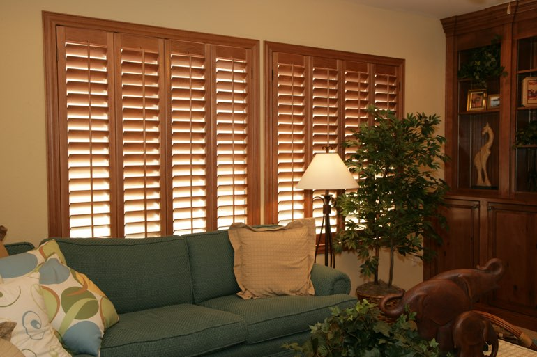 Ovation Shutters In A Philadelphia Living Room.